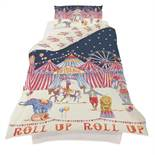 1 LOT TO CONTAIN 10 BOXED AS NEW ARTHOUSE CIRCUS FUN KIDS DUVET SETS - 004704 / SIZE: SINGLE