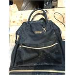 1 MOTHERCARE BACKPACK - BLACK (SOLD AS SEEN)