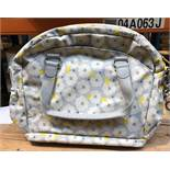 1 MOTHERCARE CHANGING BAG ( SOLD AS SEEN)