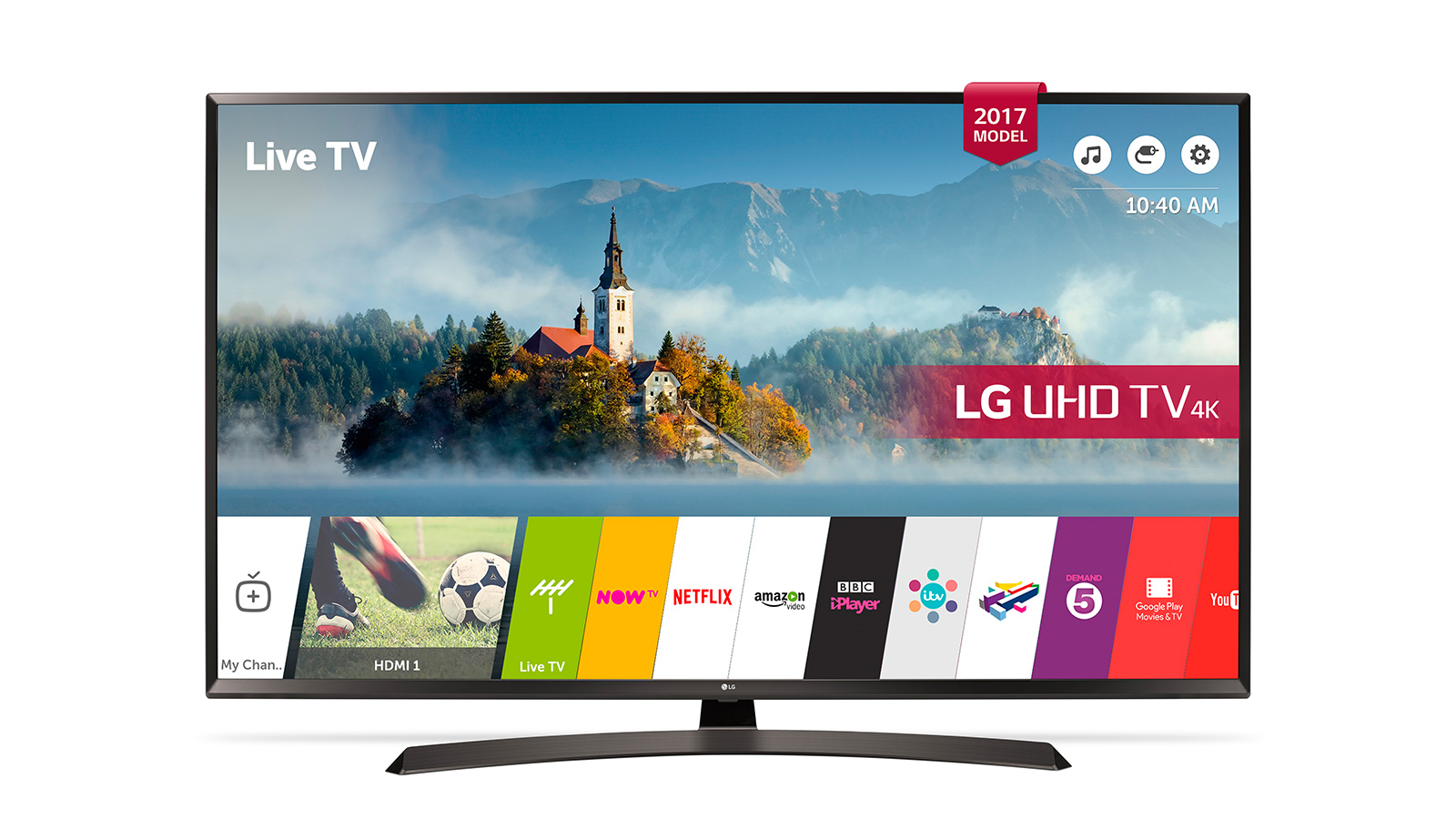 Lot 29954 - V Grade A LG 55 Inch ACTIVE HDR 4K SUPER ULTRA HD LED SMART TV WITH FREEVIEW HD & WEBOS 3.5 & WIFI -