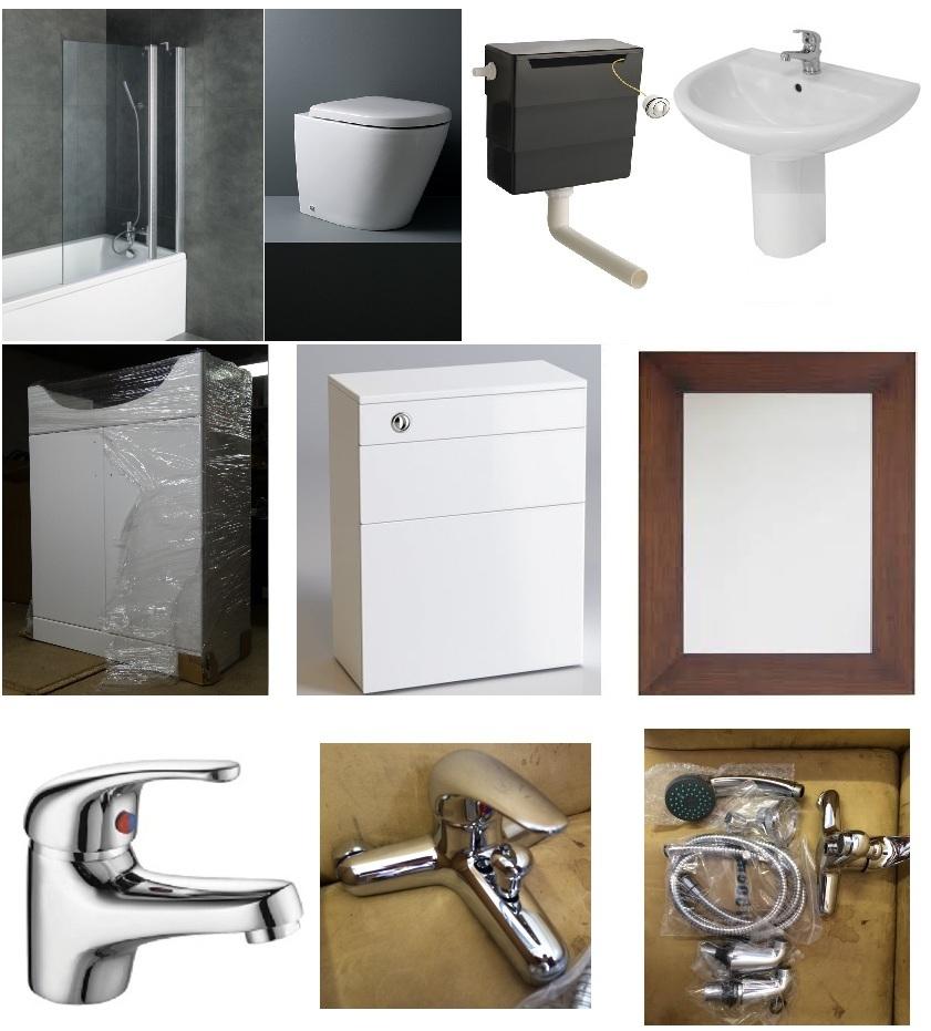 1175 Complete Bathroom Set Includes Bath Bath Panel