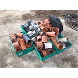 Quantity drainage and guttering spares