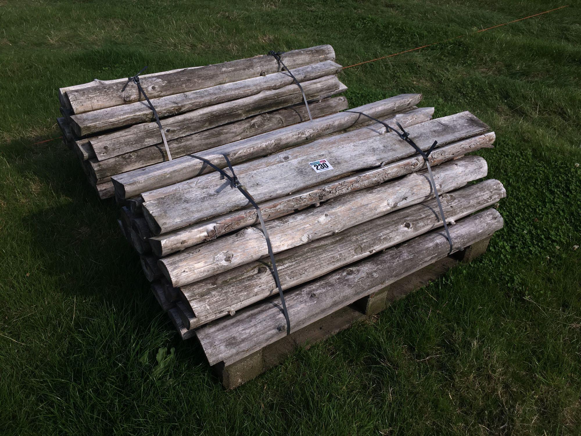 Quantity assorted timber