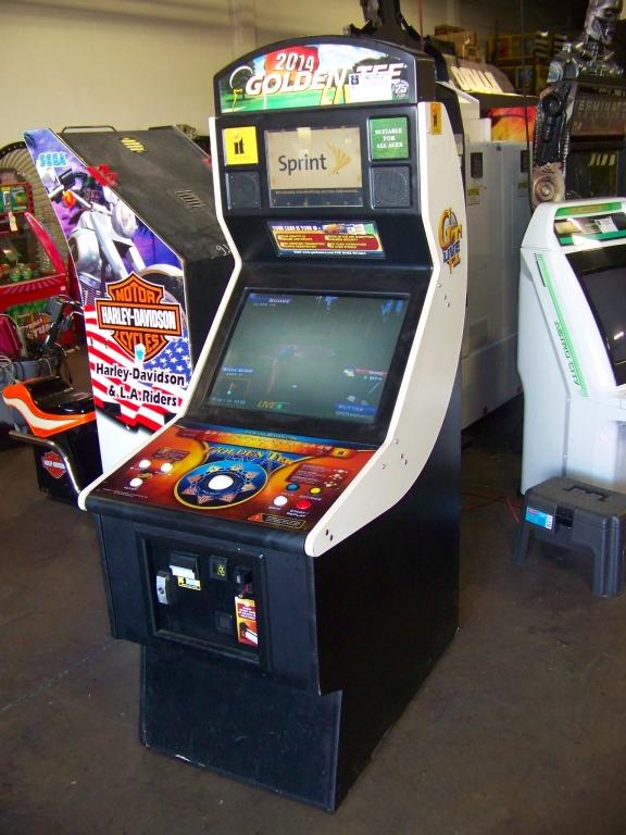 GOLDEN TEE LIVE 2014 GOLF ARCADE GAME I.T. GAMES