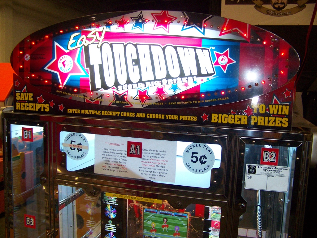 Lot 50 - EASY TOUCHDOWN PRIZE REDEMPTION GAME SMART INDUS.
