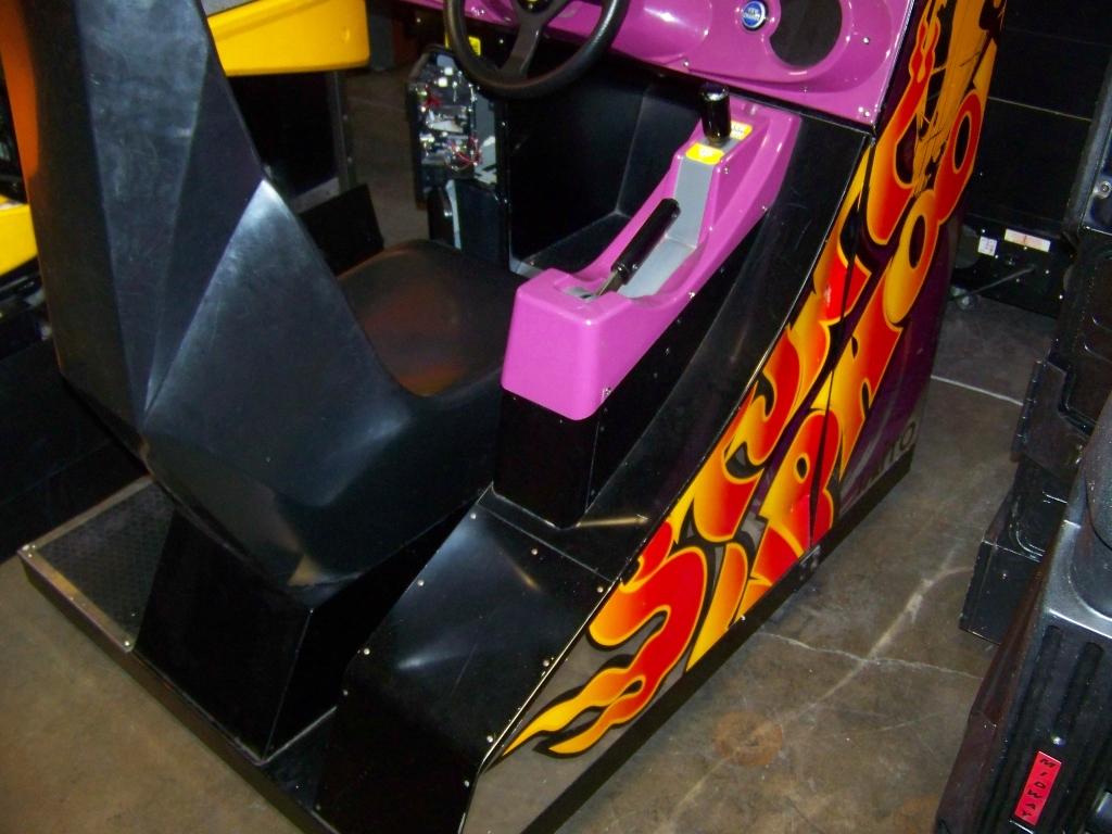 Lot 26 - STUNT TYPHOON RACING ARCADE GAME TAITO RARE