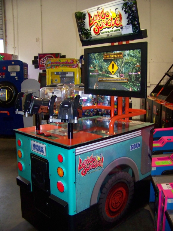 Lot 7 - LETS GO JUNGLE STD UPRIGHT ARCADE GAME