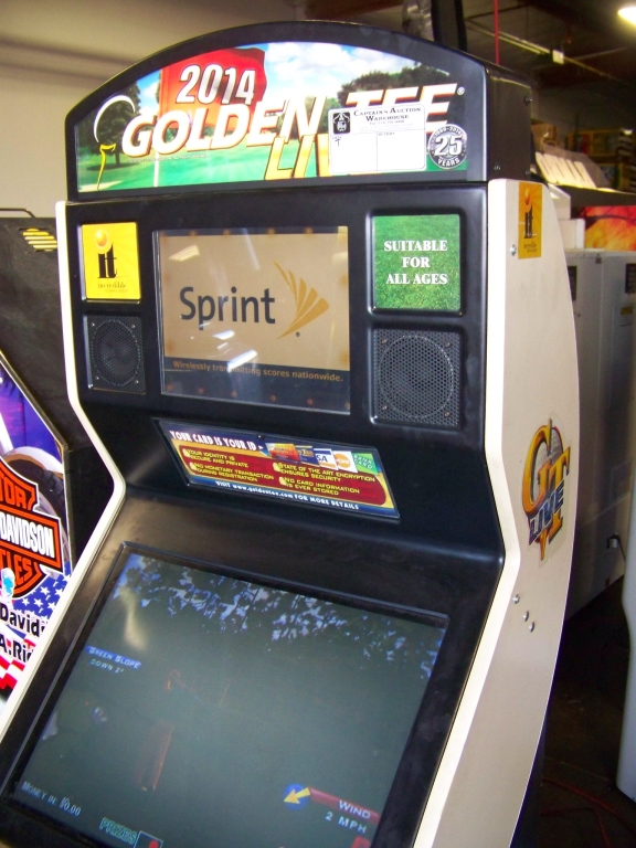 GOLDEN TEE LIVE 2014 GOLF ARCADE GAME I.T. GAMES - Image 5 of 5