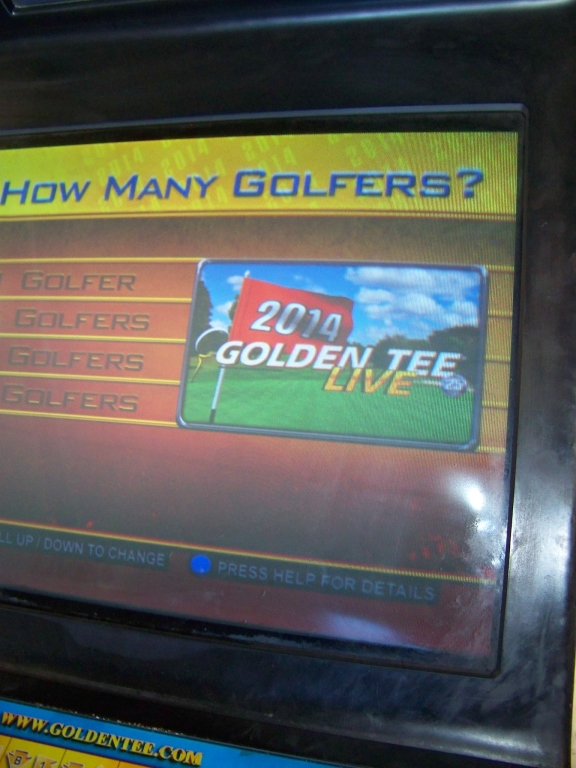 GOLDEN TEE LIVE 2014 GOLF ARCADE GAME I.T. GAMES - Image 3 of 5