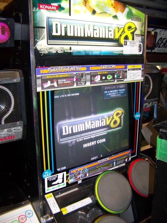 Lot 59 - DRUM MANIA V8 MUSIC ARCADE GAME KONAMI