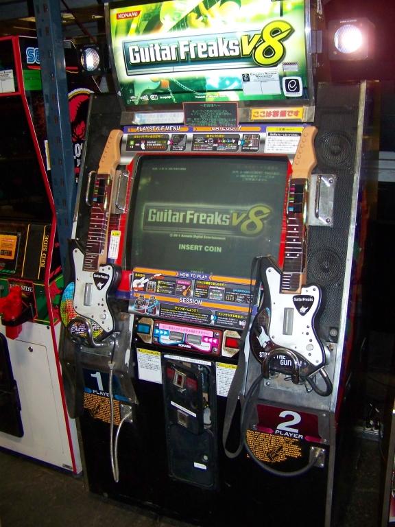 Lot 58 - GUITAR FREAKS V8 MUSIC ARCADE GAME KONAMI