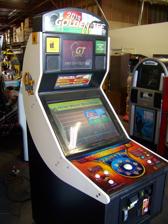 GOLDEN TEE LIVE 2014 GOLF ARCADE GAME I.T. GAMES - Image 4 of 5