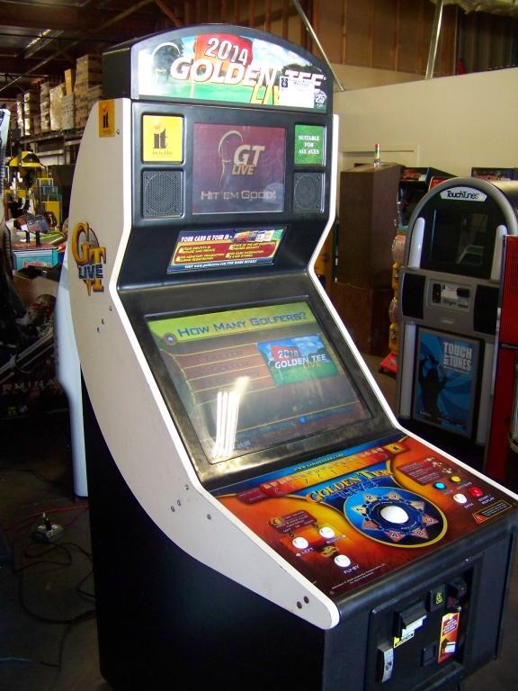 Lot 2 - GOLDEN TEE LIVE 2014 GOLF ARCADE GAME I.T. GAMES