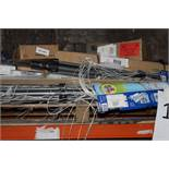 Pallet T0 Contain A Large Assortment Of Items To Include Outdoor Clothes Airers Window Blinds,