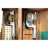 Indicating & anvil micrometer