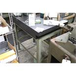 Granite surface plate w/ stand