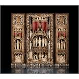 Meisterliches Altar-Triptychon im gotischen Stil
