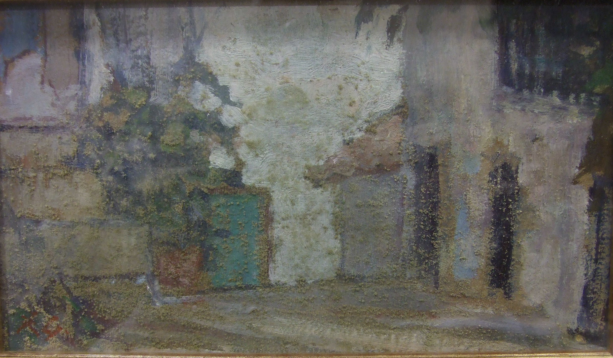 •Rita Greig RWA, ROI, NEAC (1918-2011) OLD ALBUFEIRA, ALGARVE Oil painting, signed with initials,