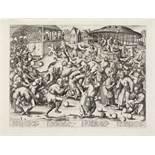 After Pieter Bruegel the Elder (1525-1569) by Pieter van der Heyden (1530-1572) The Festival of F...