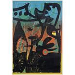Joan Miró (1893-1983) Défilé de mannequins à Bahia Lithograph in colours, 1969, on wove paper, si...