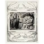 William Blake (1757-1827) Plates seventeen, eighteen and nineteen, from Illustrations of the Book...