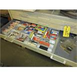 Lot (2) 5 Drawer Cabinets with End Mills Location: Elmco Tool 3 Peter Rd Bristol, RI