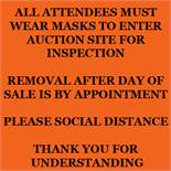 Important Auction Information