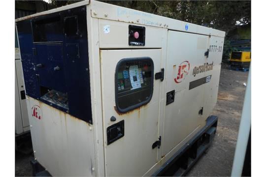 Ingersoll Rand G77 rental spec silenced generator yr2006