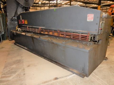 "SUMMIT HYD. PLATE SHEAR, M# 12X1/4, 1/4"" X 12' CAP"