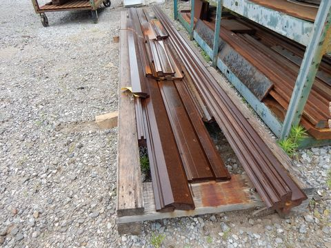 Lot 99 - PALLET PRESS BRAKE DIES TO INCLUDE L UP TO 13' (SURFACE RUST)