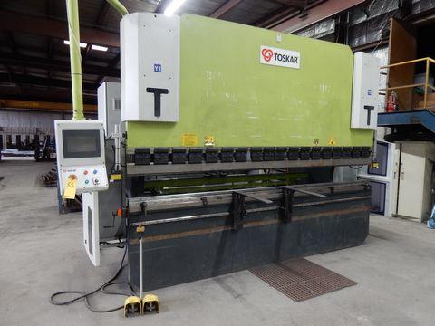 Lot 88 - 2014 TOSKAR CNC PRESS BRAKE, M# EASYFAB 3700-220, S/N T260