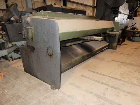"SUMMIT HYD. PLATE SHEAR, M# 12X1/4, 1/4"" X 12' CAP - Image 3 of 4"