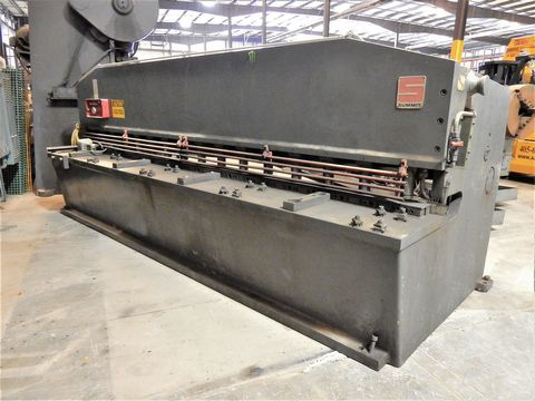 "Lot 103 - SUMMIT HYD. PLATE SHEAR, M# 12X1/4, 1/4"" X 12' CAP"