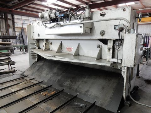 HTC HYD. PLATE SHEAR, M# 500-12C, S/N 4882757 - Image 2 of 5