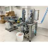 HAND SANITISER FILLING, CAPPING AND LABELLING SYSTEM
