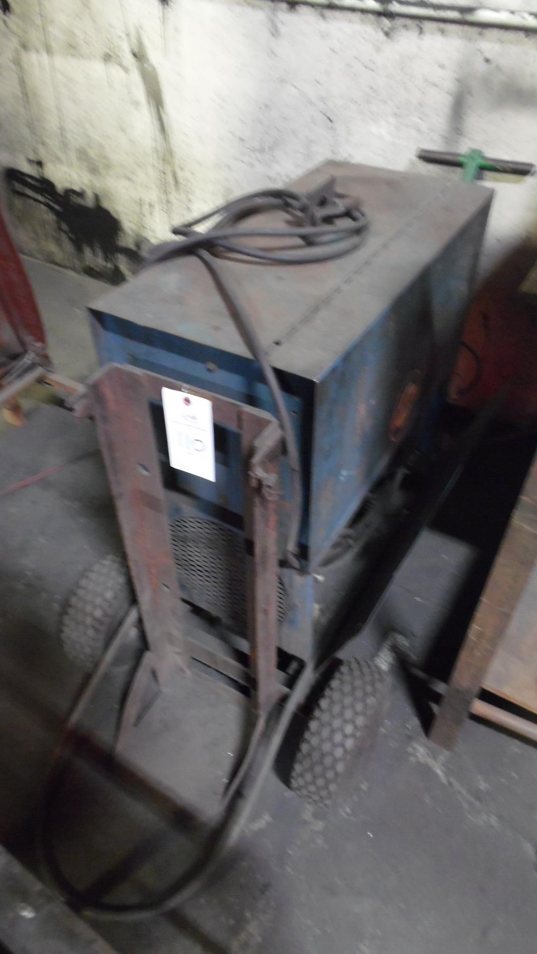Lot 110 - MILLER TIG WELDER 35