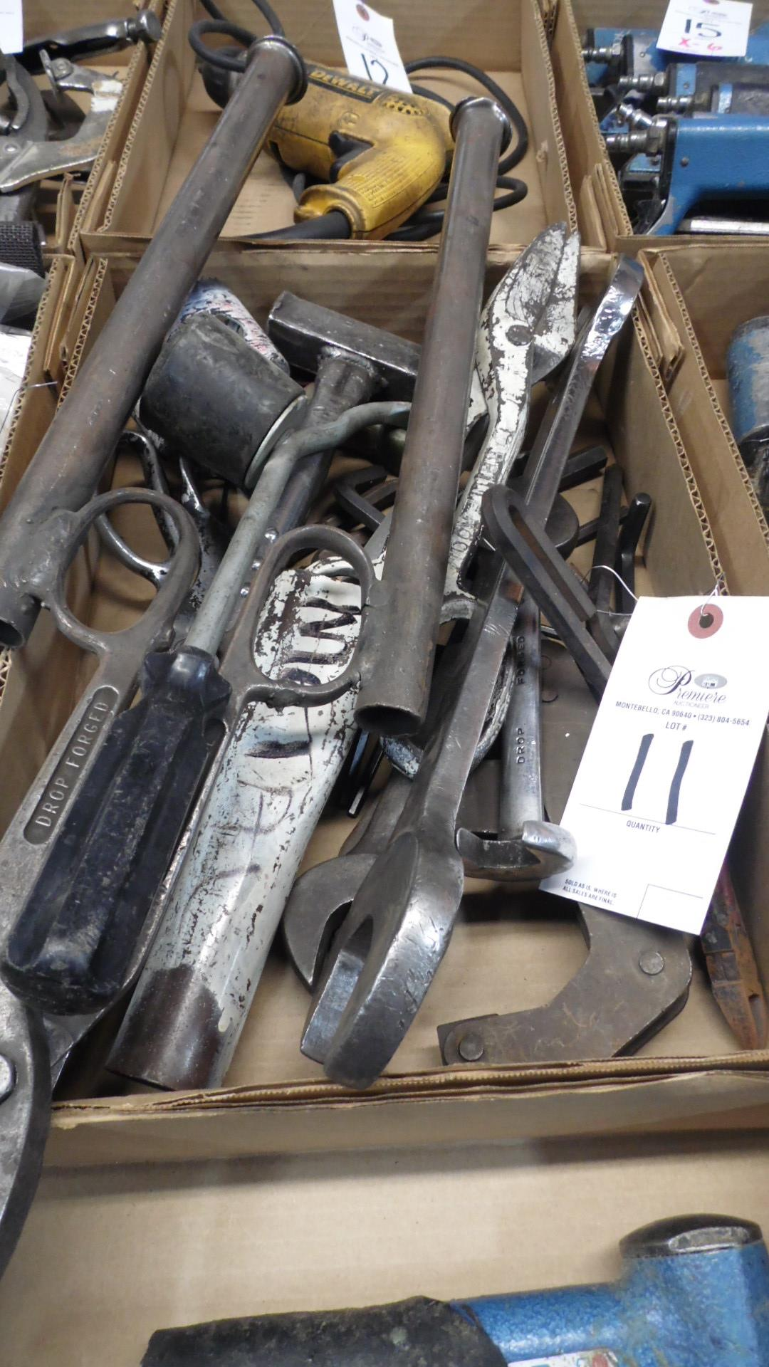 Lot 11 - ASSORTED HAND TOOLS