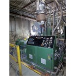 DAVIS STANDARD ''GEMINI'' GC65 TWIN FEED EXTRUDER, 4-ZONE, DIGITAL TEMPERATURE CONTROL, LOADER,