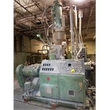 DAVIS STANDARD ''GEMINI'' GC61 CONICAL TWIN SCREW EXTRUDER, 2.4'' / 5.1'', 50HP, 4-ZONE, LOADER,