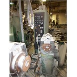 DAVIS STANDARD GC61 CONICAL TWIN FEED EXTRUDER, 3-ZONE, DIGITAL TEMPERATURE CONTROL, RATIO 17:5,