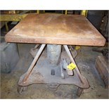 HYDRAULIC DIE LIFT TABLE