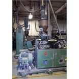 DAVIS STANDARD ''GEMINI'' GC-65 CONICAL TWIN EXTRUDER, 2.5'' / 5.1'', 50HP, 4-ZONE, LOADER, S/N: