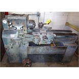 LEBLOND REGAL 15'' X 36'' LATHE, WITH 3 & 4-JAW CHUCKS, QUICK CHANGE TOOL POST, SPINDLE SPEEDS 60-