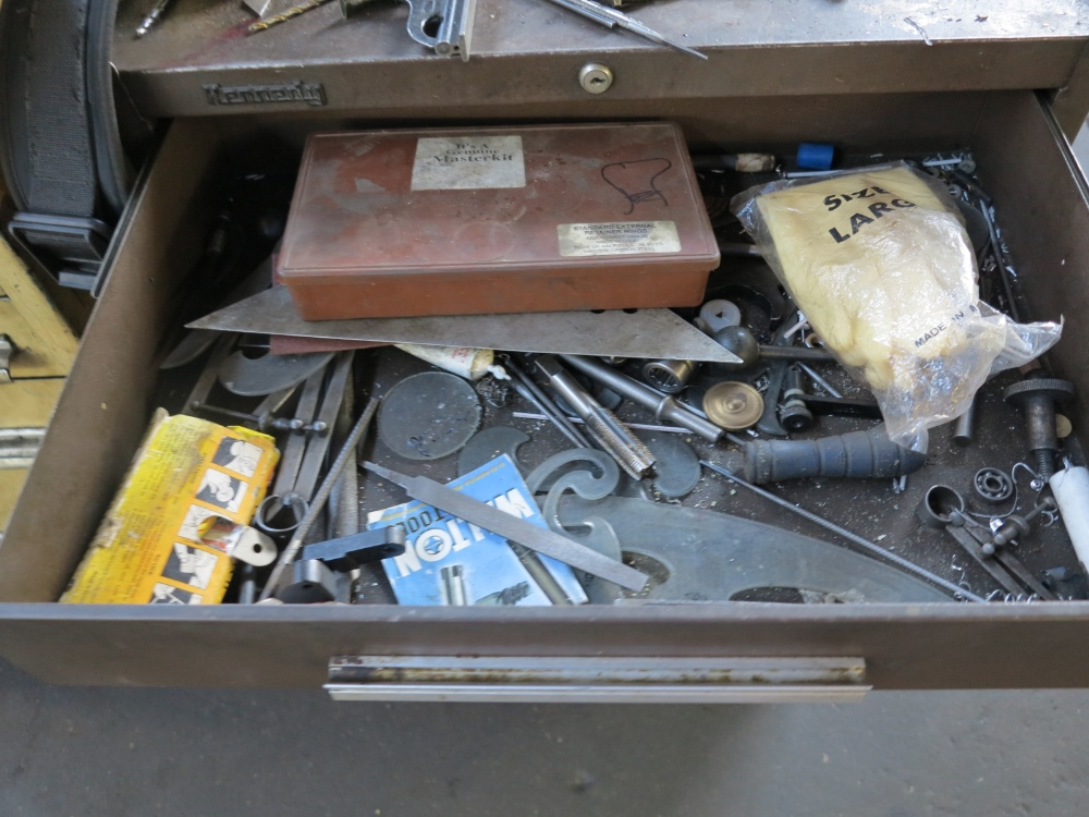 KENNEDY TOOL BOX W/ CONTENTS - Image 2 of 5