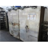 STEEL 2-DOOR CABINET W/ CONTENTS (2-PIECE STAMPING FORGE DIES - LARGE QUANTITY)
