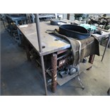 STEEL WELDING TABLE