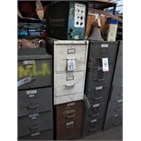 LOT - (2) 2-DRAWER FILE CABINETS