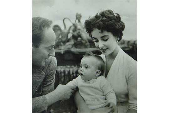 Cecil Beaton (1904-1980), pair of photographs, Elizabeth Taylor ...