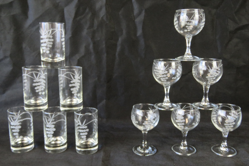 Lot 506 - Penrose Waterford cut glass; a boxed set