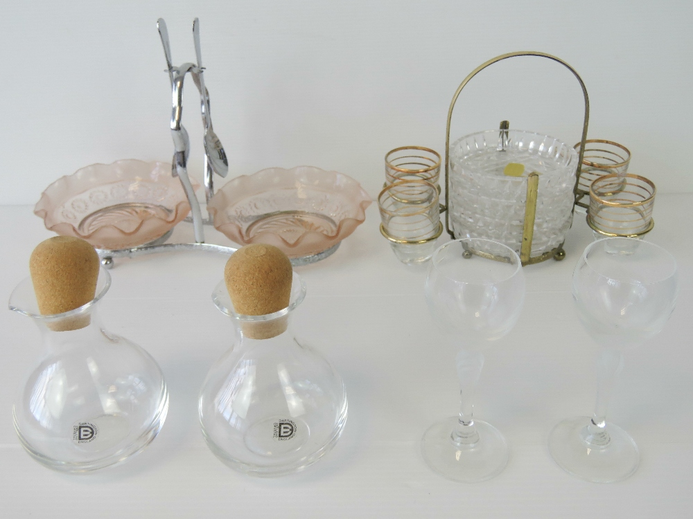 Lot 504 - A quantity of assorted glassware includi